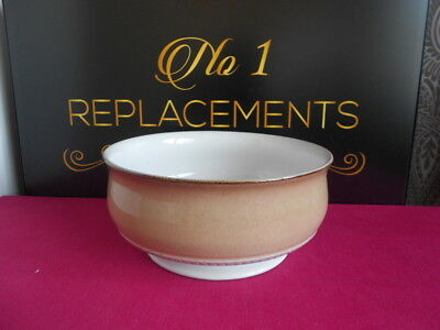 "Denby Seville Large Footed Vegetable Serving Dish Bowl 8.5"" x 3.8"""