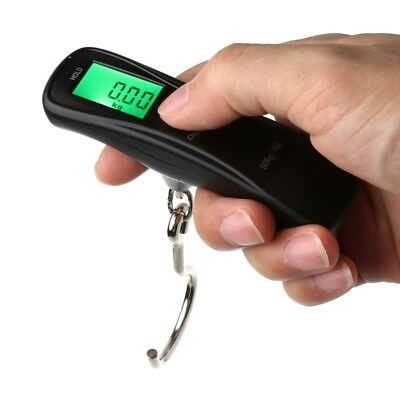 Hot 50kg/10g Portable Electronic Digital LCD Travel Luggage Weight Hanging Scale