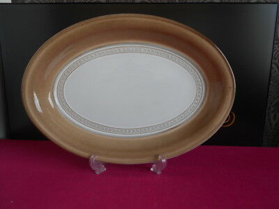 "Denby Seville Oval Steak Plate / Serving Platter 11.5"" x 8.75"""