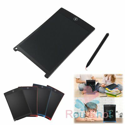 "8.5"" Digital LCD Writing Tablet Electronic Drawing Board Notepad Pad w/ Pen【AU】"