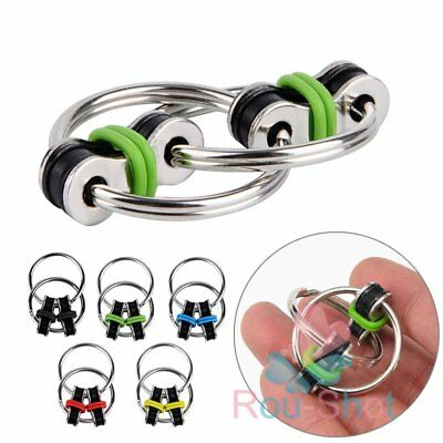 Chain Fidget Toy Desk EDC Focus ADHD Autism ADD Stress Relive Anti-anxious【AU】