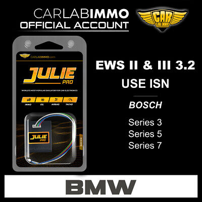 BMW immo OFF with Julie Universal Emulator EWS II & III 3.2 system