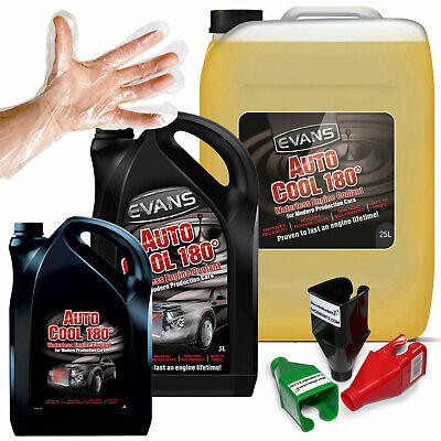 Evans Auto Cool 180 - Waterless Engine Coolant Antifreeze for Modern Cars