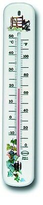 Wall Thermometer - Indoor Outdoor Garden Greenhouse Home Office Room - 14/461/3