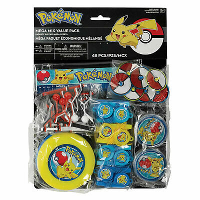 Pokemon Mega Value Pack of 48 Party favours by AMSCAN