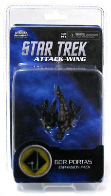 Star Trek Attack Wing. Gor Portas Expansion Pack. New and Sealed in Pack.