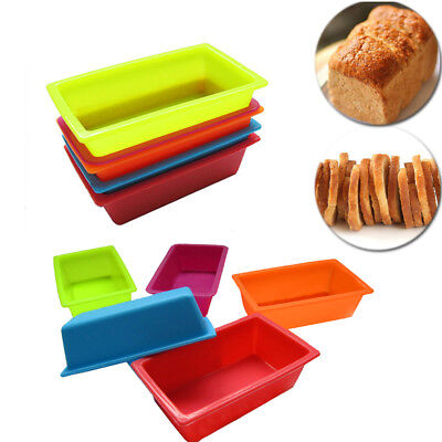 Unique Mould Baking Tools DIY Toast Box Silicone Mold Bakeware Pastry Bread Cake