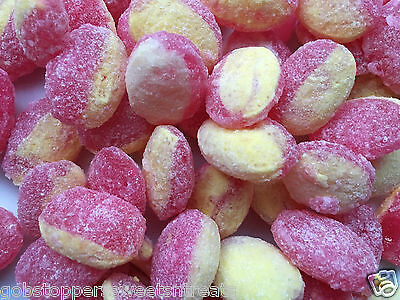 RHUBARB & CUSTARD 200g, CLASSIC BRITISH HARD BOILED RETRO SWEETS, UK IMPORT