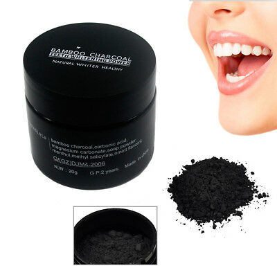 Natural Whitening Tooth & Gum Powder Activate Coconut Charcoal Toothpaste Carbon