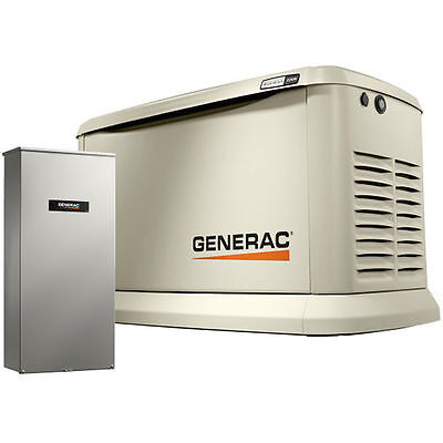 Generac Guardian™ 22kW Standby Generator System (200A Service Disconnec...