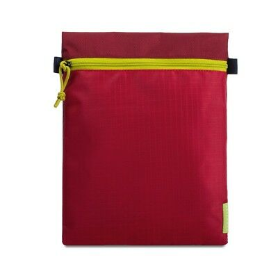 Crumpler Zippie Pouch L Document Sleeve Carry On Bag Flying Brief red