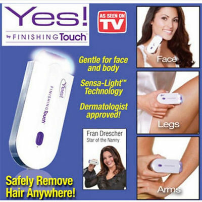Yes Finishing Touch Instant & Pain Free Hair Removal As Seen on TV Hair Remover