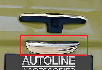 Lower Chrome Rear Door Handle Cover Tailgate Trim To Fit Renault Trafic (02-14)