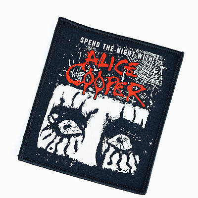 Alice Cooper Concert Tour Patch 2017 Spend the Night With Alice Cooper