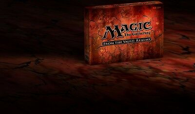 Magic the Gathering MTG FROM THE VAULT: Realms New and Sealed