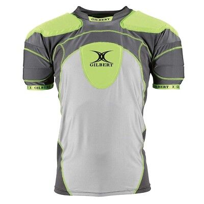 NEW Gilbert Triflex Pro Rugby Shoulder Pads   from Rebel Sport
