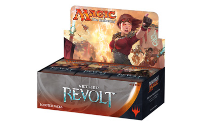 Magic the Gathering MTG Aether Revolt Sealed Booster Box 36 Packs