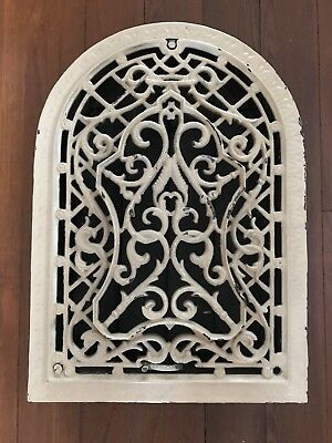 Antique Cast Iron heat Grate wall Vent Register Architectural Salvage