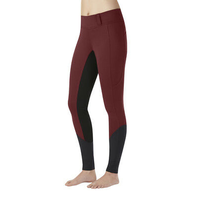 Kerrits Sit Tight Windpro Full Seat Breeches - BARN RED - Different Sizes