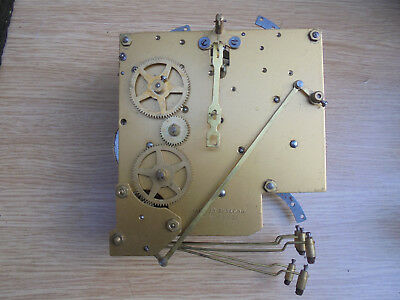 CLOCK  MOVEMENT, contructed in england,no 42l434,good condition
