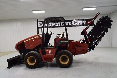 2003 Ditch Witch RT70M Trencher 4X4X4 6 Way Blade 629 HRS