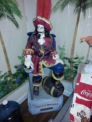 Captain Morgan Statue Store Display 4 foot 7 inch Tall