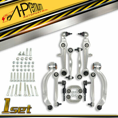 Control Arm Ball Joint Tie Rod Sway Bar Kit for Audi A4 A6 Quattro S4 Passat