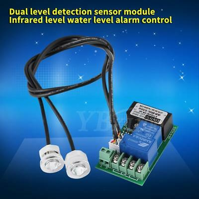 Dual-level Water Liquid Level Detection Controller Sensor Infrared Level Alarm