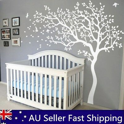 Super Big Tree Nursery Wall Sticker Kids Baby Bedroom Art Mural Vinyl Decal 2m