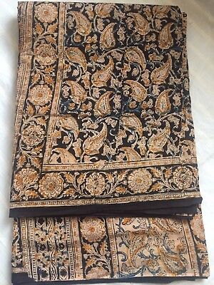 Indian Kanchipuram / Fancy Bridal / Katan/Kalamkari Cotton Saree 125