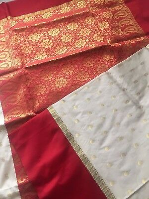 Indian Banarasi Sari / Kanchipuram /  Fancy Bridal / Katan Silk Saree 126