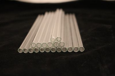 SCHOTT GLASS TUBING 20 Pieces BOROSILICATE PYREX TUBES 9mm 1.5mmx150mm
