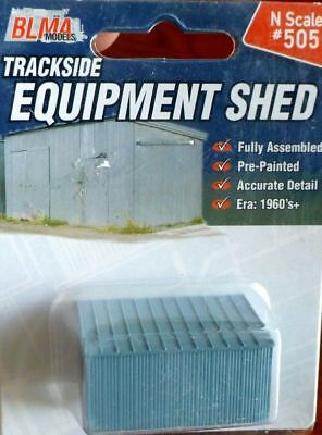 BLMA (N-Scale) #505 Equipment Shed - NIB