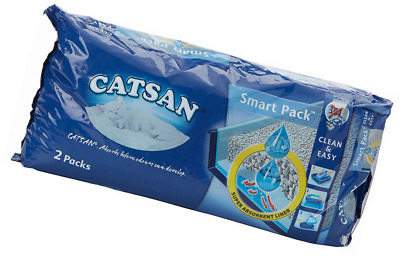 Catsan Smart Pack Litter 4l, 2 Inlays