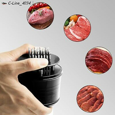 Meat Tenderizer Ultra Sharp Stainless Steel Blades Professional Kitchen Tool NEW
