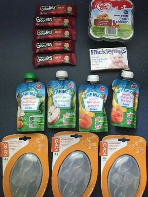 Baby Food Bundle Organix Heinz Cow And Gate Bickiepegs