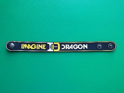 PUNK ROCK METAL MUSIC FESTIVAL RUBBER WRISTBAND/BRACELET:- IMAGINE DRAGONS (b)