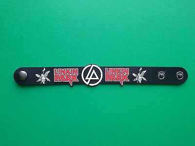 PUNK ROCK METAL MUSIC FESTIVAL RUBBER WRISTBAND/BRACELET:- LINKIN' PARK (b)