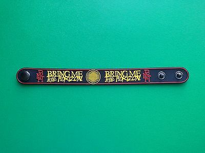 PUNK ROCK METAL MUSIC FESTIVAL WRISTBAND/BRACELET:- BRING ME THE HORIZON (a)