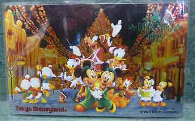 Disney Collectible Prepaid Phone Cards 1995 Japan Tokyo Disneyland Christmas
