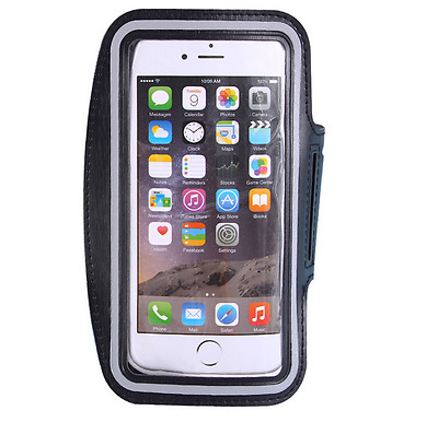 Sport Fitness armband, armband cell phone holder iPhone 6S, 7 and 8 Plus Black