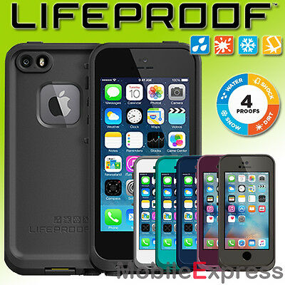 GENUINE Lifeproof Fre Waterproof Shock Proof Case Cover for iPhone 5S & SE