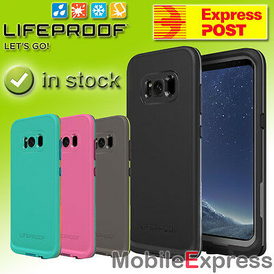 GENUINE Lifeproof Fre Shock Proof – Waterproof Case Cover for Galaxy S8 or S8+