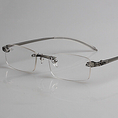 Rimless Reading Glasses Eyewear Ultra-High-End Memory Men And Women 1.0 To 4.0