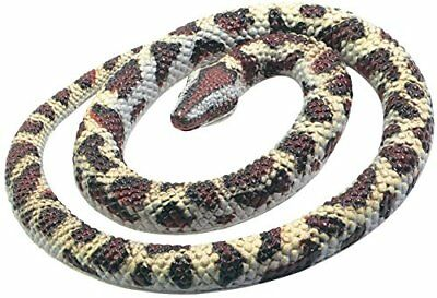 Rock Python Snake Fake Realistic Rubber Toy 26 Inch Long Garden Props Scary Gag