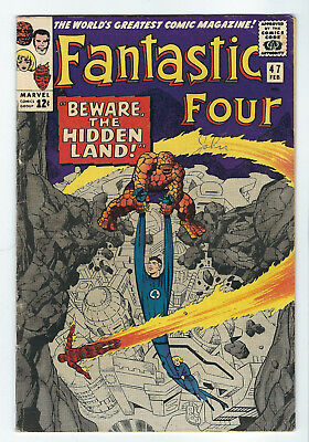 FANTASTIC FOUR 47 I Hidden Land