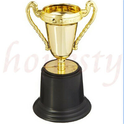 Plastic Tulip Shape Trophy Cup Prize Award Competition Sport Winner Decor Gift