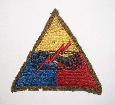 Armored Force Wool Woolie Patch WWII US Army P4735