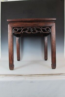 A Chinese Antique HUA LI wood small table