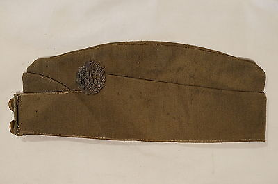 WW1 British Royal Flying Corps Wedge Cap with RFC Badge & Buttons